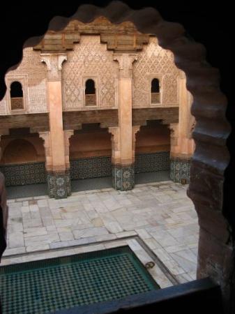 อาลีเบนยูเซฟเมเดรซา: La Madraza de Ali Ibn Yusuf (Marrakech)