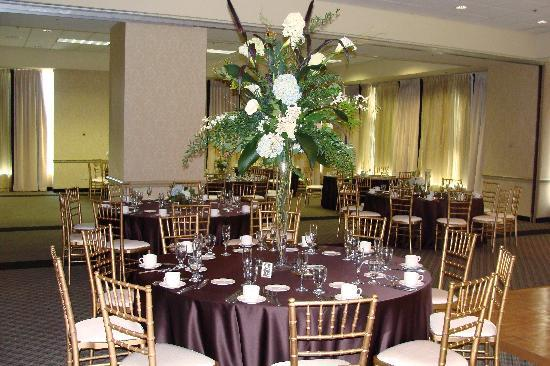 Sheraton Raleigh Hotel: Great set up (this was before they were completely done).