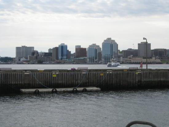 Alexander Keith's Brewery: Halifax ,  Nova Scotia sky line