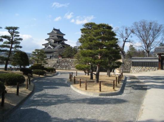 Matsumoto, Japan: imperial castle's garden