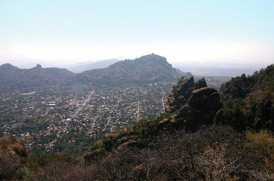 Tepoztlan, Meksika: si llegamos