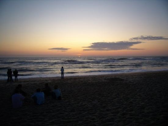 Lacanau-Ocean, Fransa: 09.08.09 -Tramonto a Lacanau Ocean