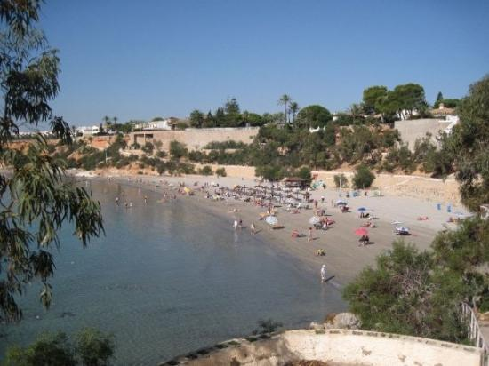 Playa Flamenca, İspanya: The beach at Cabo Riog