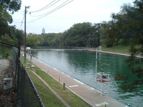 Barton Springs Pool: Barton Springs at Zilker park