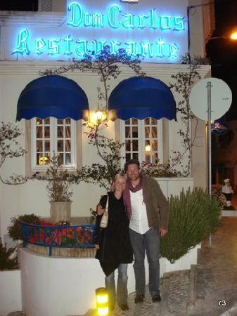 Restaurante Dom Carlos : outside dom carlos
