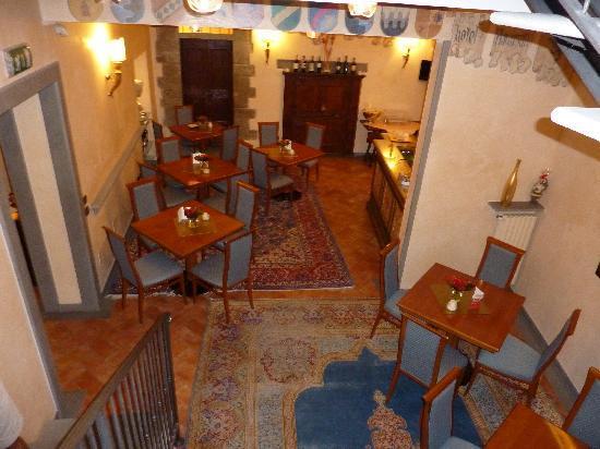 Hotel Davanzati: Breakfast Room