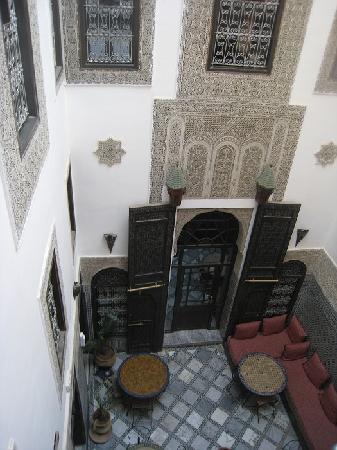 Riad Hala: courtyard