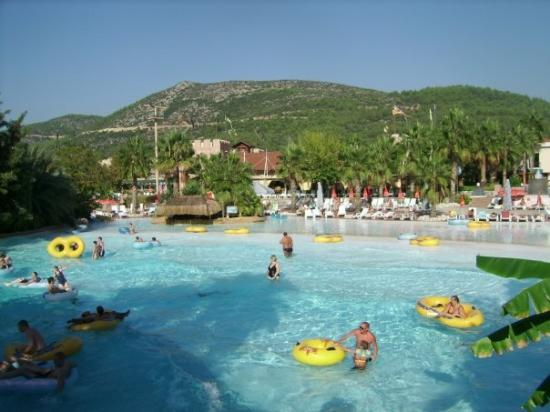 The pool near the waterpark. - Picture of Aqua Fantasy ...