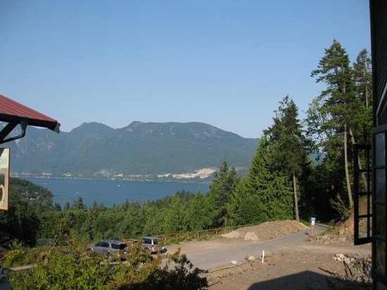 Bowen Island, Kanada: view from restaurant