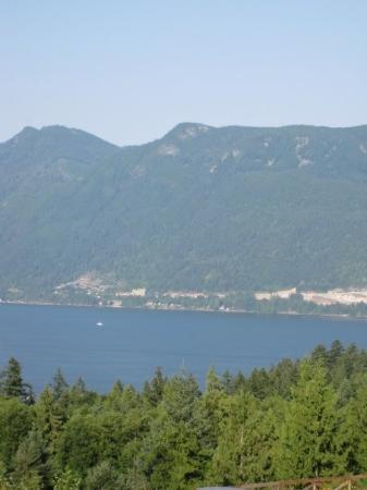 Bowen Island, แคนาดา: view from restaurant