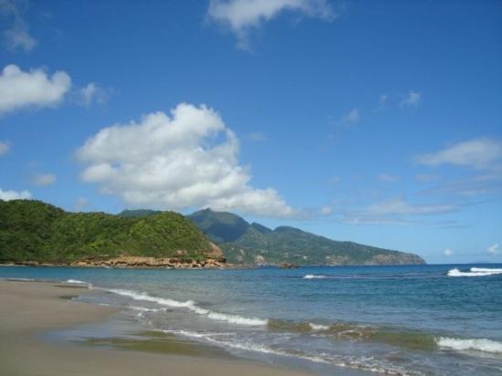 กาลิบิไช, โดมินิกา: Batibou Beach, Calibishie, Caribbean