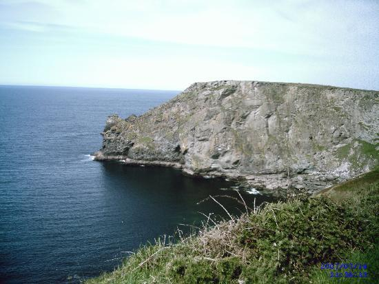 Bossiney House Hotel: beautiful views