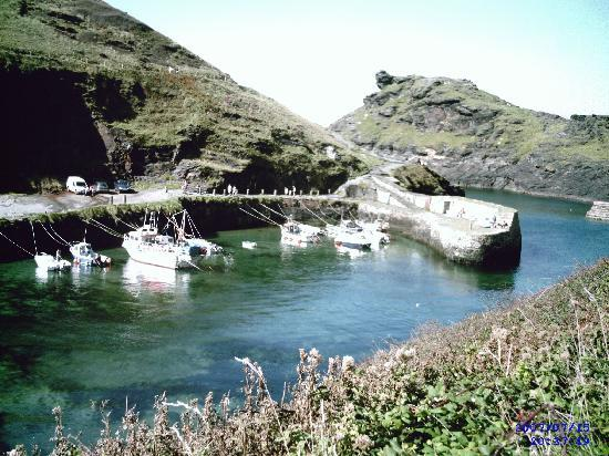 Bossiney House Hotel: nearby boscastle, well worth a visit