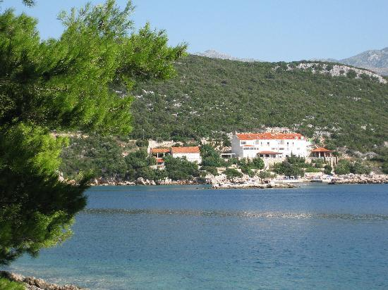Hotel Bozica from across the bay