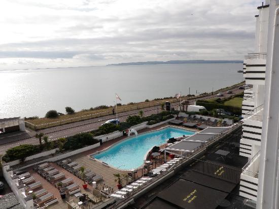 The Suncliff Hotel: View from room window