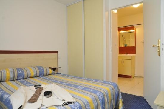 Appart'City Limoges: chambre d'un appartement T2