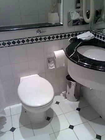 โรงแรมเวสต์บิวรี เมย์แฟร์: toilet seat in the way!