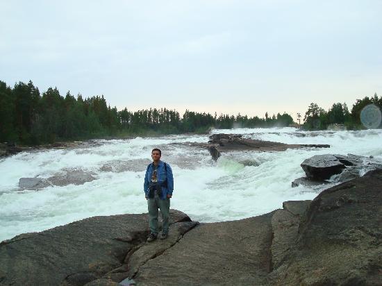 Hotell Storforsen: Las cascadas