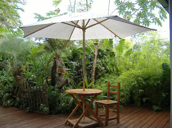 Secret Garden Iguazu B&B : No t.v., but a perfect place to read a book