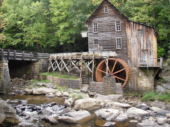 Clifftop, WV: Glade Creek Grist Mill
