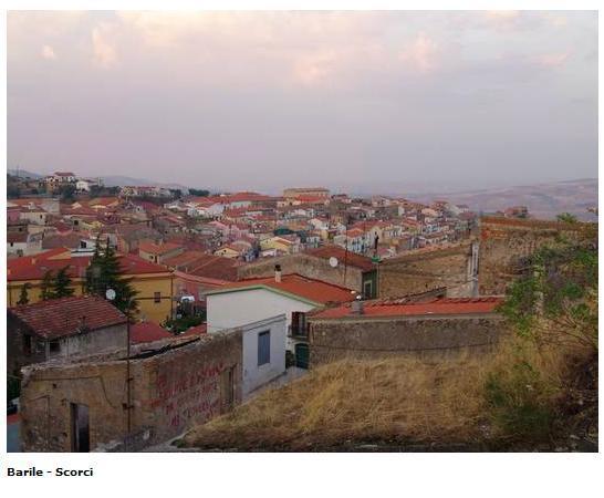 Barile, Italien: Una veduto della città