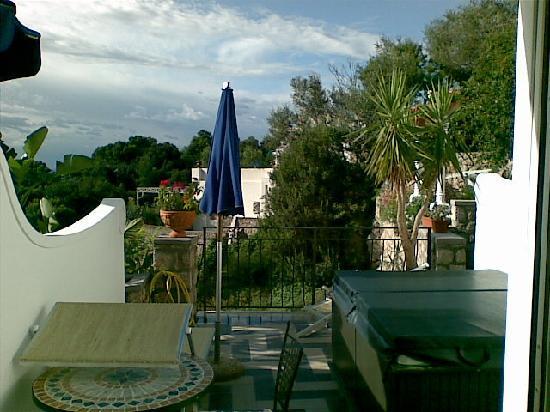 Hotel La Floridiana: La terrasse