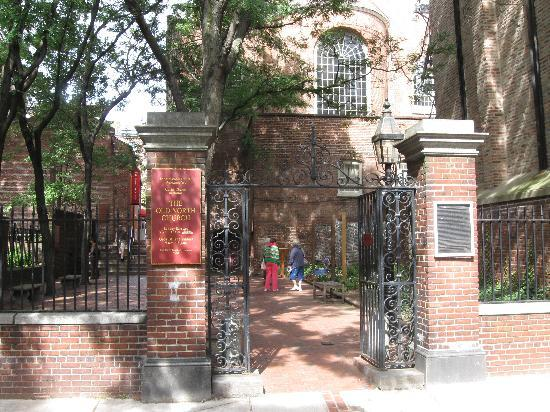 Old Town Trolley Tours: Old North Church