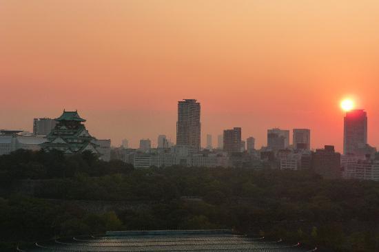 โรงแรมนิว โอตานิ โอซาก้า: View from room