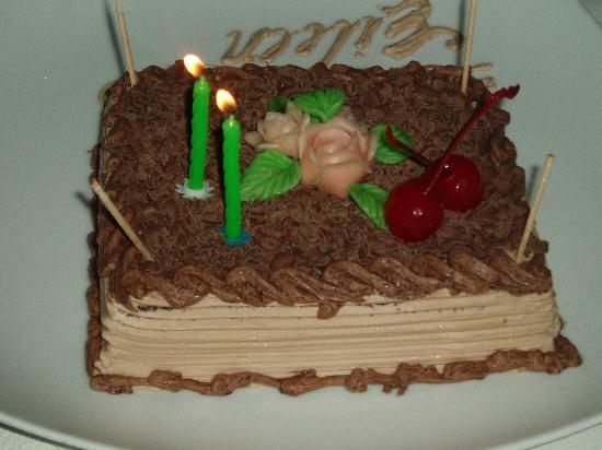 Pegasus Reef Hotel: My Wife's Birthday Cake