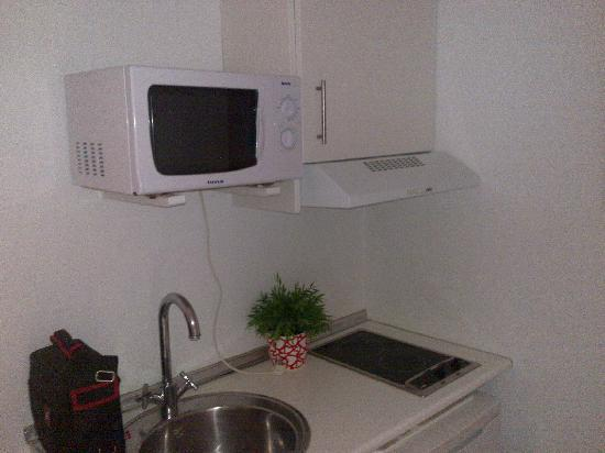 Hospederia Zahara: Pequeña cocina
