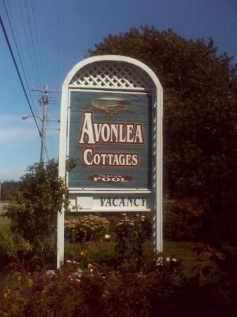 Avonlea Cottages: The town we stayed in, Cavendish, is where Green Gables is so everything in the town was themed