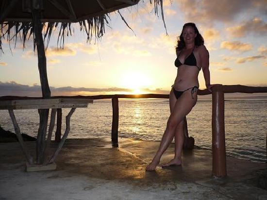 Liku'alofa Beach Resort: Romantic Sunset