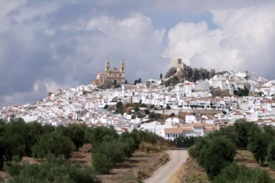 A White Hill Town Olvera, Spain