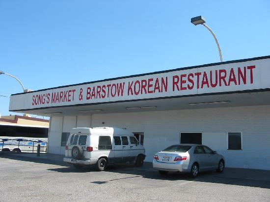 Song S Market And Barstow Korean Restaurant Picture Of