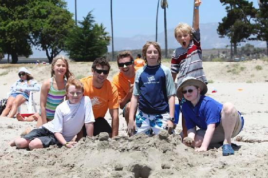 Santa Barbara Family Vacation Center: Day at the Beach