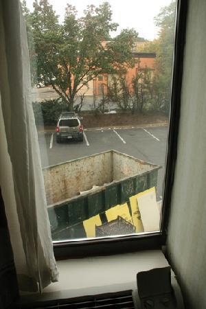 Comfort Inn Pentagon City: Scenic view of the dumpster