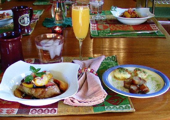 Alpenhorn Gasthaus: The wonderful breakfast