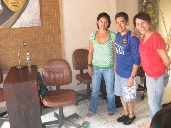 Metamorphosis Day Spa: Fabiola, me, Angie (metamorfosis day spa)
