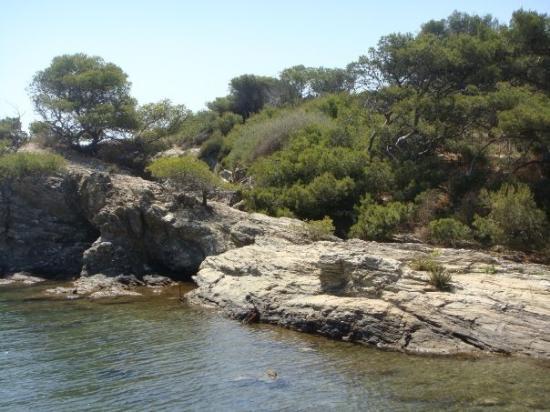 Sanary-sur-Mer, France: l'île de gaou
