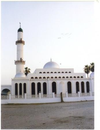 Massawa, Eritrea: The mosque, at the centre of the second island. Away from the market/hotels/bars front shore.