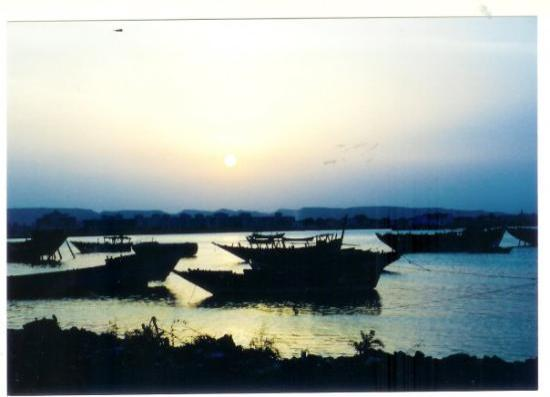 Massawa, Eritrea: It's dawn (photo from september 2003)