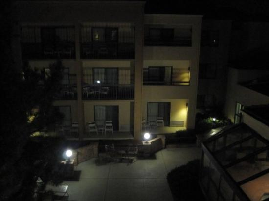 Courtyard Boulder Photo