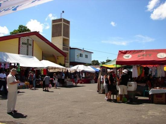 Corinto, Nicaragua - market for tourists. Great stuff. Lots of fun.