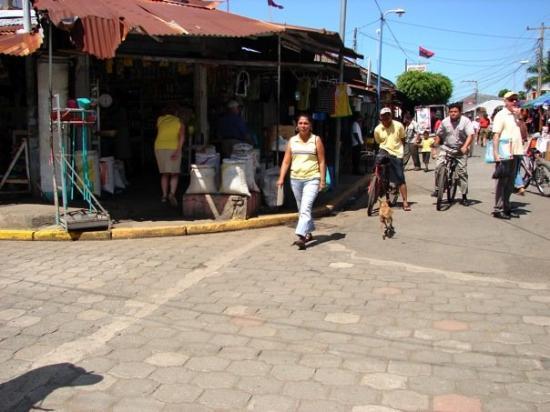 Corinto, Nicaragua - just a street scene