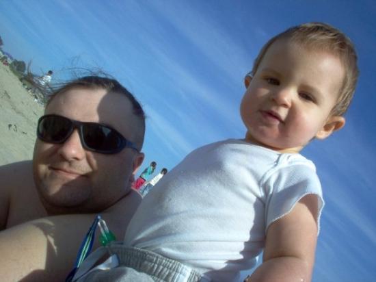 Santa Cruz Beach Boardwalk: at the beach