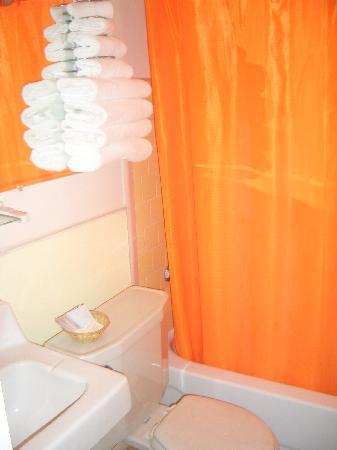 Sun-n-Sand Motel: our bathroom