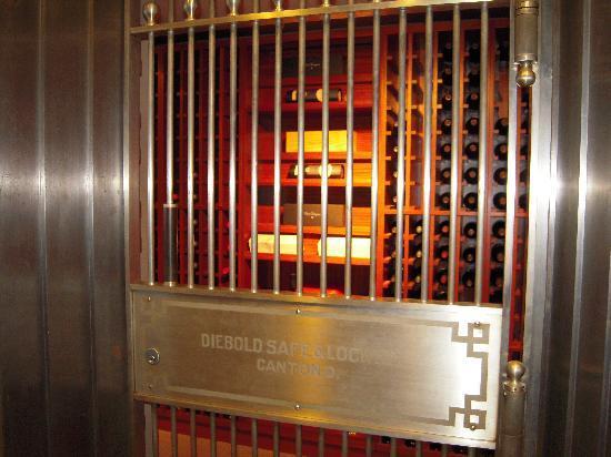 BANK Restaurant: The wine vault