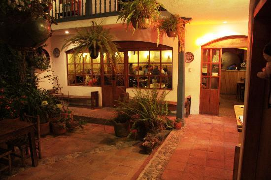 The front of Restaurant in Hostal Dona Esther