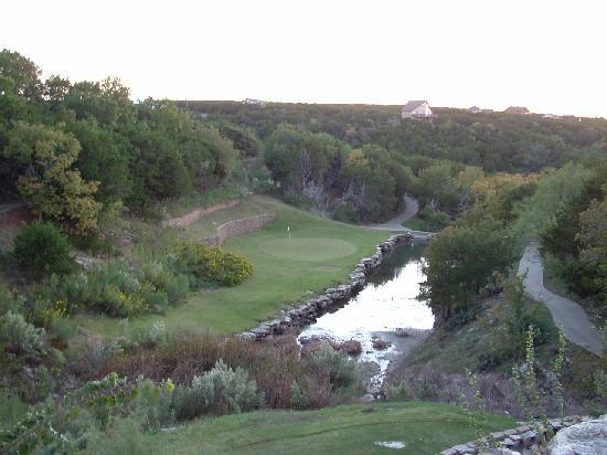 The Cliffs Resort: One of many challenging holes!!