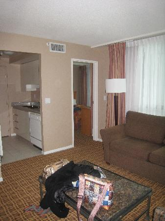 Landis Hotel & Suites: living area